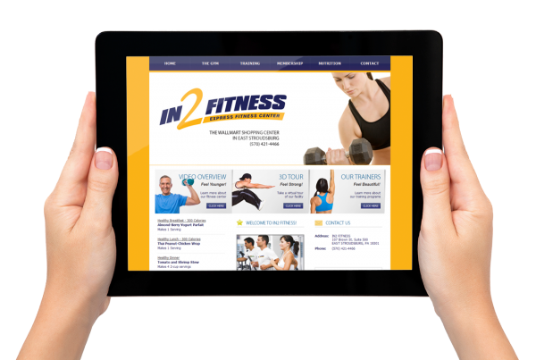 in2fitness-website-design
